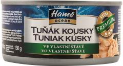 Conserva ton bucati in suc propriu Hame 185g