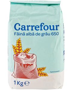 Faina alba de grau 650 Carrefour 1kg