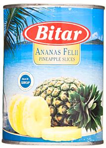 Conserva ananas felii Bitar 565g
