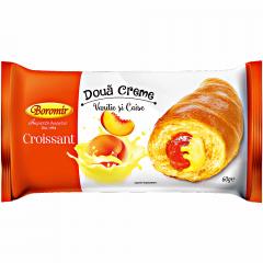 Croissant cu vanilie si caise Boromir 60g