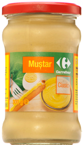 Mustar clasic Carrefour 300g