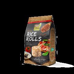 Mini-rondele de orez cu aroma de pizza & ulei masline Rice Up 50g