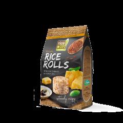 Mini-rondele de orez cu aroma de branza italiana & ulei masline Rice Up 50g