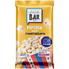 Popcorn aroma unt pentru microunde Carrefour 100g