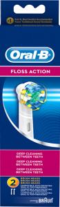 Rezerva periuta electrica Oral B EB25 Floss Action 2 bucati