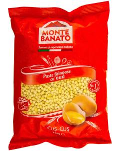 Paste fainose cus-cus Monte Banato 250g
