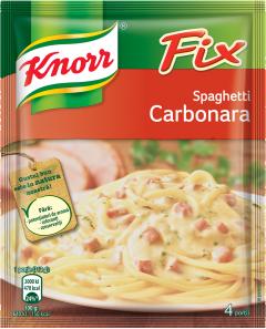Amestec pentru sos spaghete carbonara Knorr La Fix 38g