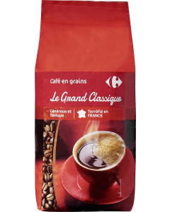 Cafea boabe Grand Classique Carrefour 1kg