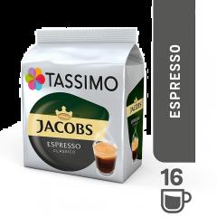 Tassimo Jacobs Espresso 118.4G, 16 capsule