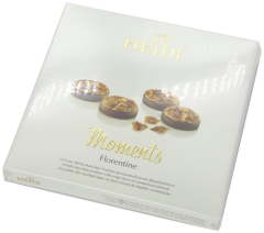 Praline din ciocolata cu lapte si migdale Heidi Moments 142g