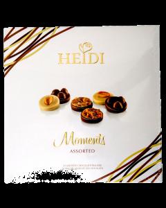Praline asortate din ciocolata Heidi 220g