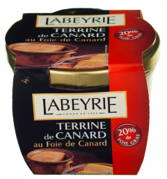 Terina de rata cu 20% foie gras Labeyrie 170g