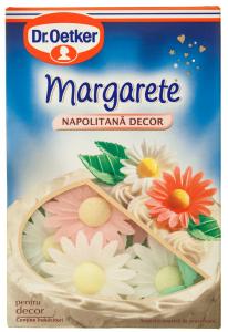 Napolitana pentru decor 8 Margarete si 16 frunze Dr.Oetker 8g