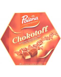Caramele in ciocolata cu lapte Poiana Chokotoff 238g