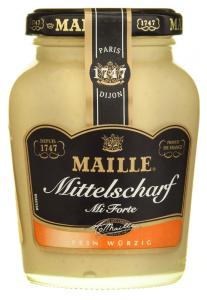 Mustar Dijon mediu iute Maille 200ml