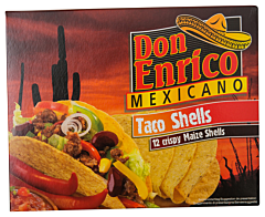 Taco Shells Don Enrico Mexicano 135g