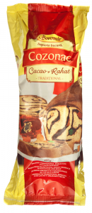 Cozonac crema de cacao si rahat Boromir 400g