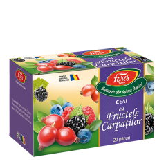 Ceai fructele Carpatilor Fares Aromfruct 40g