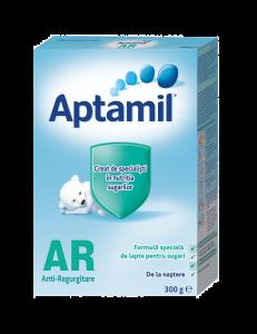 Formula speciala de lapte pentru sugari Aptamil AR 300g