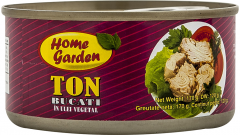 Ton bucati in ulei vegetal Home Garden 170g