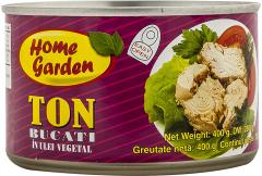 Ton bucati in ulei vegetal Home Garden 400g
