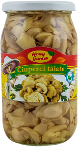 Ciuperci taiate Home Garden 750g