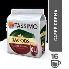 Tassimo Jacobs Café Crema XL, 16 capsule
