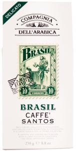 Cafea prajita si macinata Compagnia DellArabica Brasil Santos 250g
