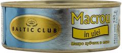 Macrou bucati in ulei Baltic Club 240g