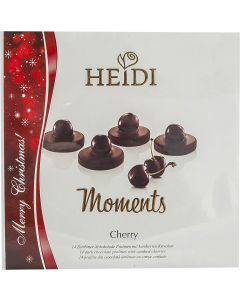 Praline din ciocolata amaruie cu cirese Heidi Moments 150g
