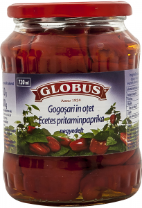 Gogosari in otet Globus 720ml