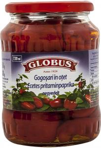 Gogosari in otet Globus 720ml