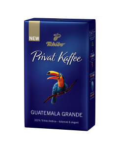 Cafea prajita si macinata Tchibo Private Kaffee Guatemala Grande 250g