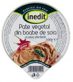 Pate vegetal picant Inedit Helvet 100g