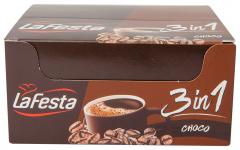 Bautura instant cu cafea, zahar si gust de lapte La Festa 3 in 1 Choco 24buc