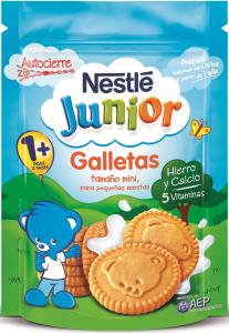 Biscuiti Nestle Junior pentru copii mici de peste 12 luni 180g