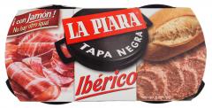 Pate de porc La Piara Iberico 146g