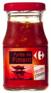 Piure de ardei iute Carrefour 100g