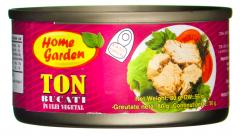 Ton bucati in ulei vegetal Home Garden 80g