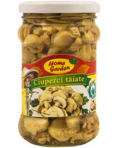Ciuperci taiate Home Garden 300g