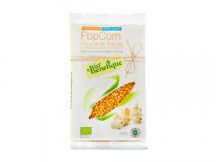 Popcorn bio pentru cuptor cu microunde Bio Benefique 90g