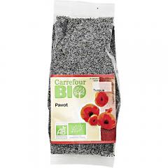 Seminte de mac Carrefour Bio 100g