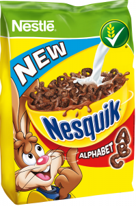 Cereale mic dejun Nestle Nesquik Alphabet 460g
