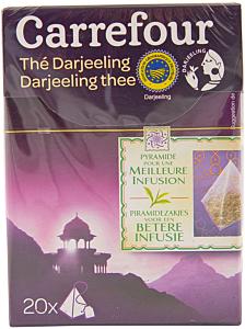 Ceai negru Carrefour Darjeeling 36g