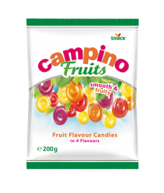 Bomboane asortate cu aroma de fructe Storck Campino 200g