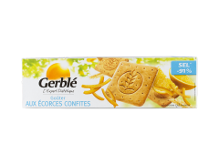 Gustare cu coji citrice confiate Gerble L'Expert Dietetique 360g