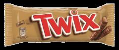 Baton ciocolata si caramel Twix Twin 50g