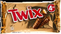 Baton cu biscuite si caramel invelit in ciocolata Twix 200g