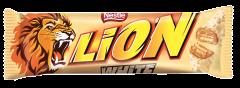 Baton ciocolata si caramel Lion White 42g