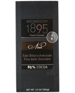 Ciocolata fina amaruie 85% cacao Weinrich´s 1895 100g